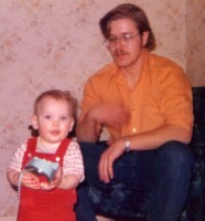 Steve with son Christopher 1973